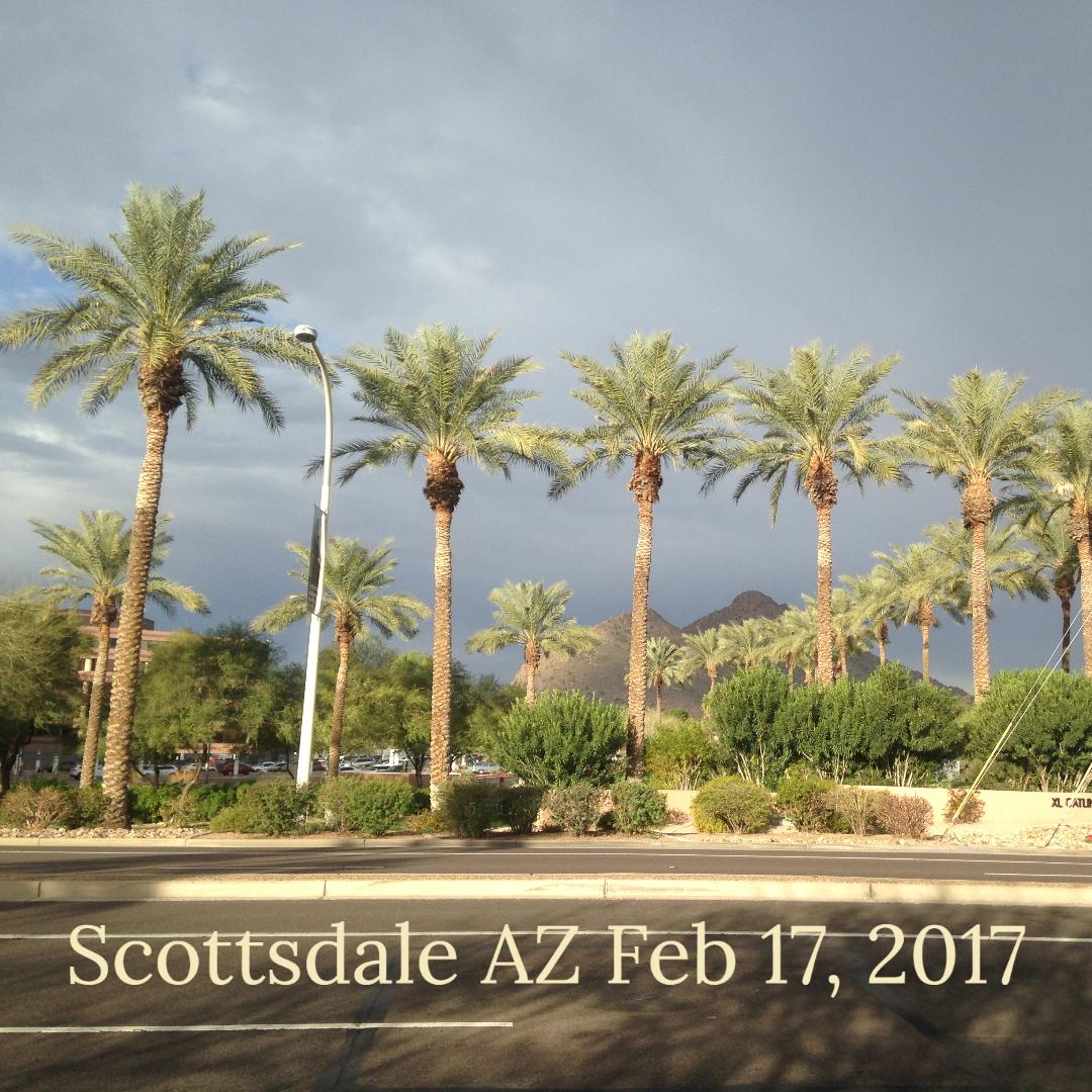 Scottsdale AZ Feb 2017